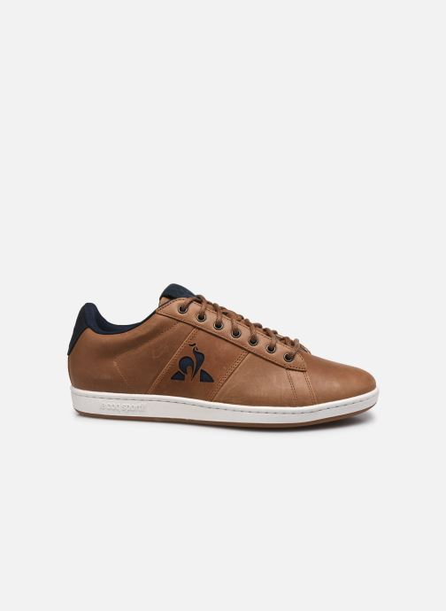 Sneakers Le Coq Sportif Master Court Waxy Beige immagine posteriore