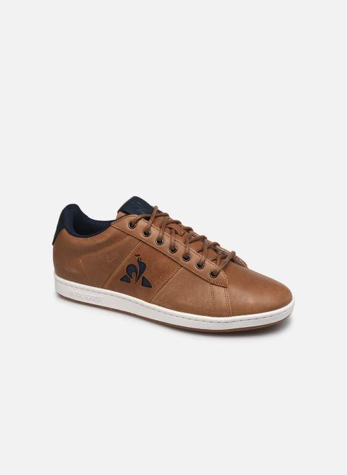 Sneakers Le Coq Sportif Master Court Waxy Beige vedi dettaglio/paio