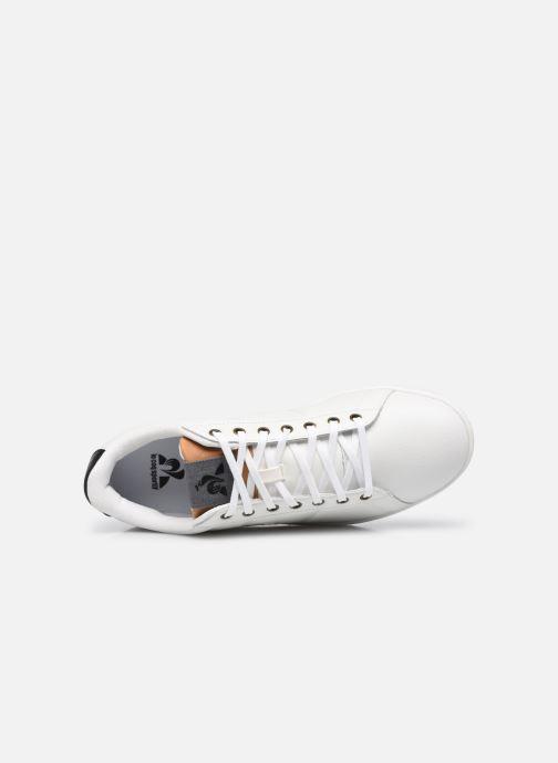Sneakers Le Coq Sportif Master Court Denim Marrone immagine sinistra