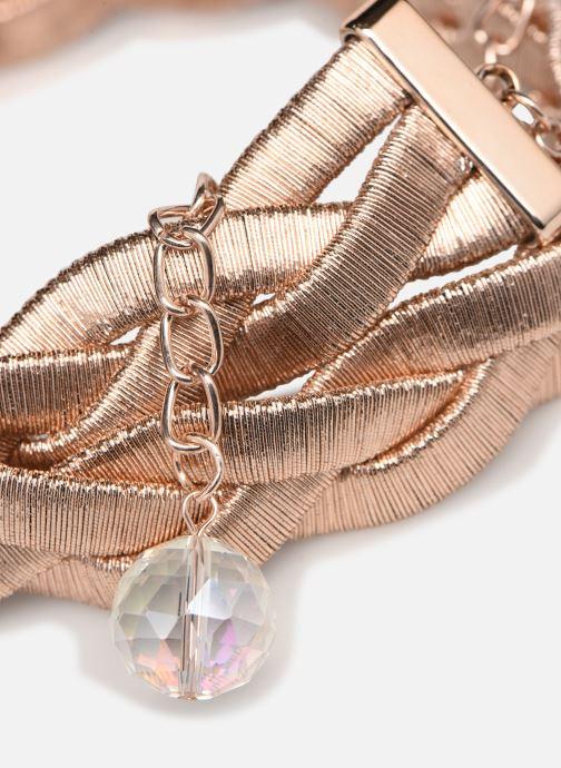 Cinture I Love Shoes WOTRESSE Rosa modello indossato