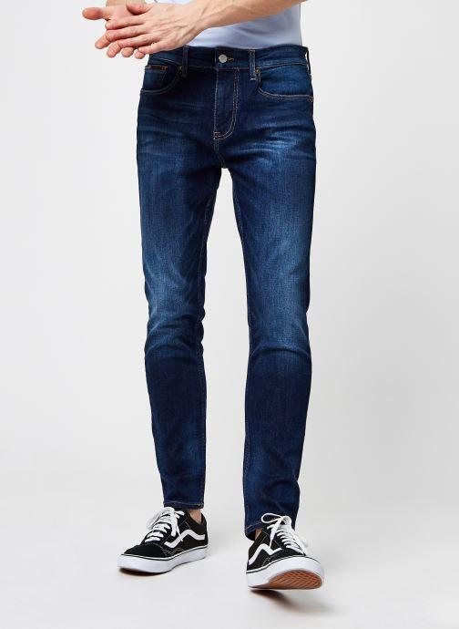 Vêtements Tommy Jeans Austin Slim Tapered Cnds Bleu vue détail/paire