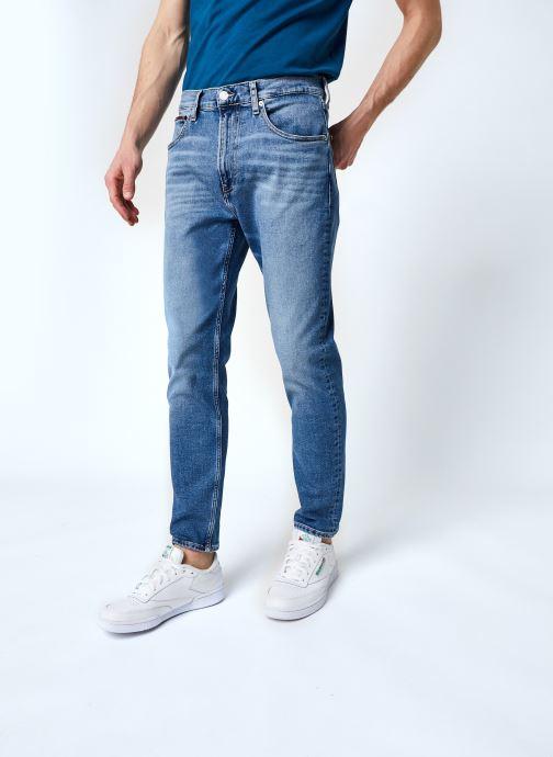 Vêtements Tommy Jeans Rey Relaxed Tapered Dlbc Bleu vue détail/paire