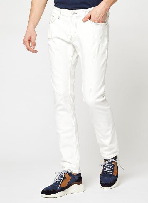 Vêtements Tommy Jeans Scanton Slim Owcd Blanc vue détail/paire
