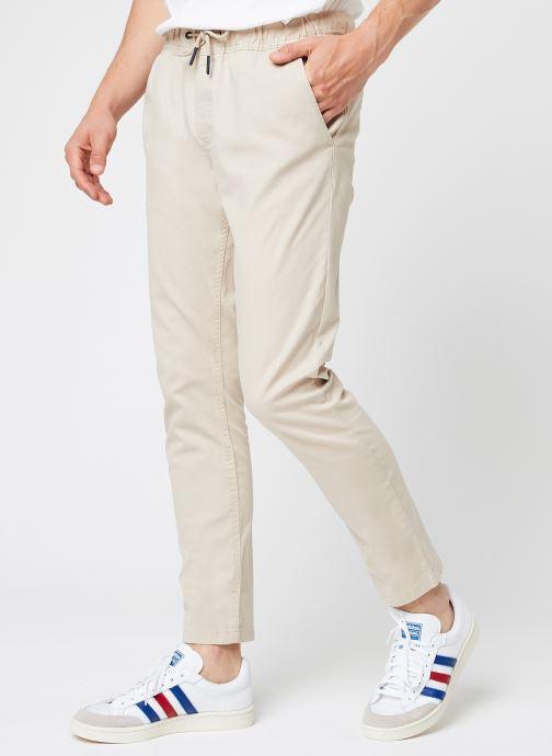 Vêtements Tommy Jeans TJM Scanton Dobby Track Pant Beige vue détail/paire