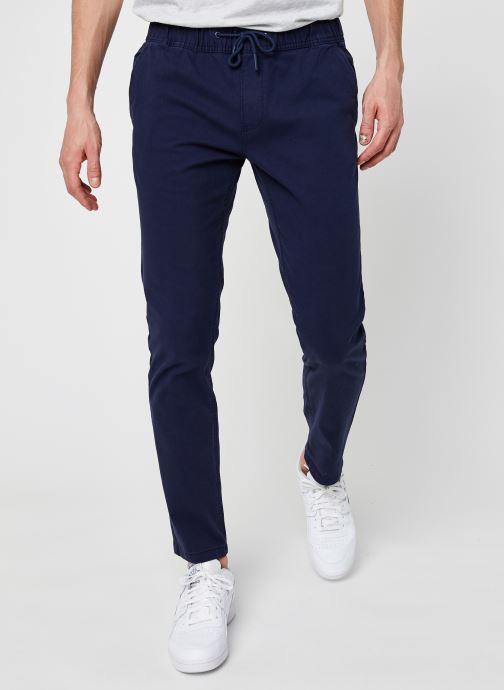 Ropa Tommy Jeans TJM Scanton Dobby Track Pant Azul vista de detalle / par