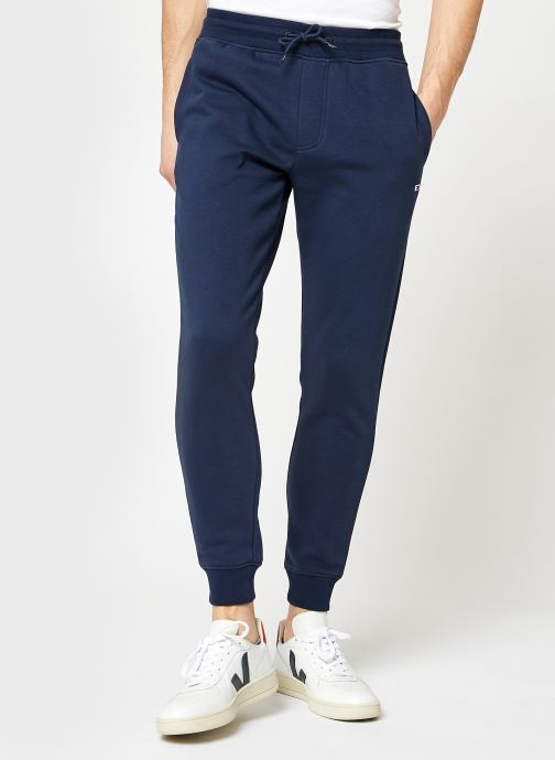 Vêtements Tommy Jeans TJM Slim Fleece Sweatpant Bleu vue détail/paire