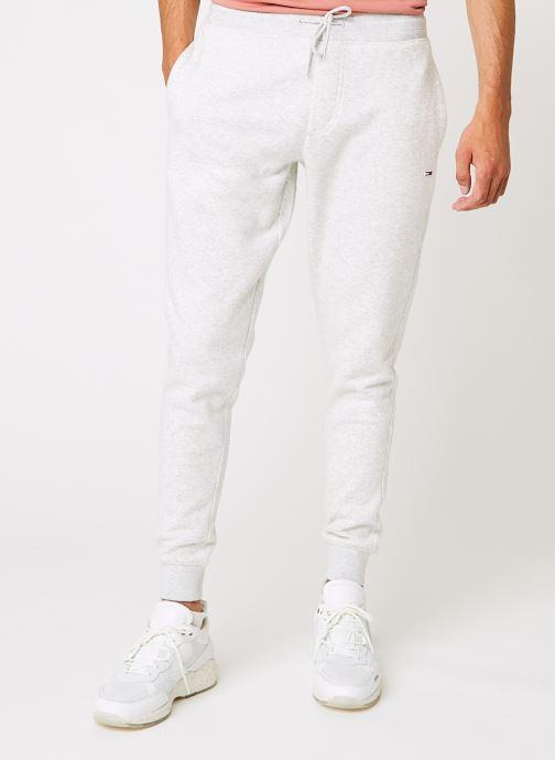 Vêtements Tommy Jeans TJM Slim Fleece Sweatpant Gris vue détail/paire