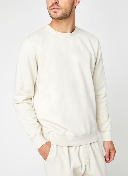 Abbigliamento Colorful Standard Classic Organic Crew Bianco vedi dettaglio/paio