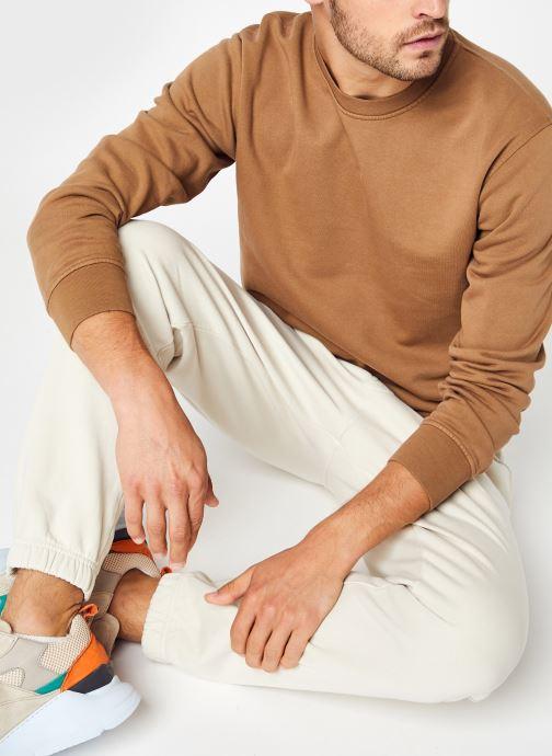 Abbigliamento Colorful Standard Classic Organic Crew Marrone vedi dettaglio/paio