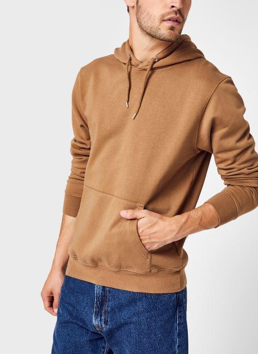 Vêtements Colorful Standard Classic Organic Hood Marron vue détail/paire
