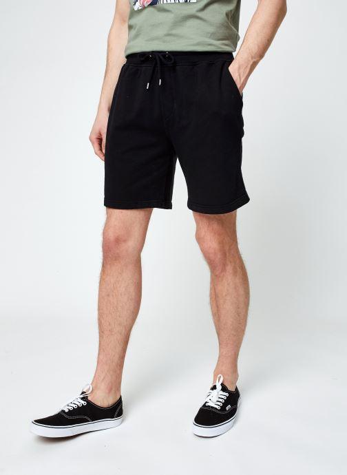 Vêtements Colorful Standard Classic Organic Sweatshorts Noir vue détail/paire