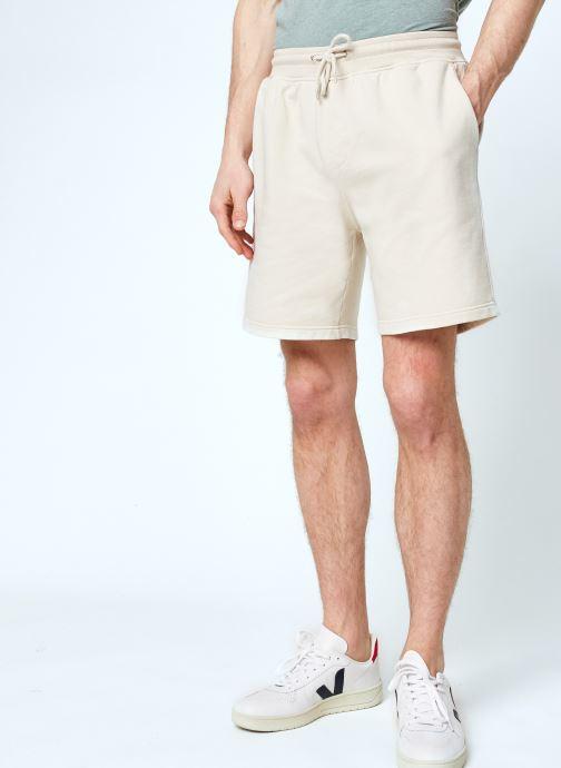 Vêtements Colorful Standard Classic Organic Sweatshorts Beige vue détail/paire
