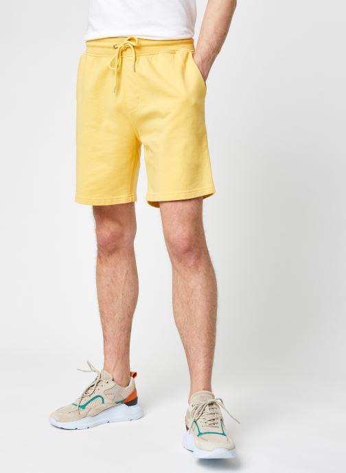 Vêtements Colorful Standard Classic Organic Sweatshorts Jaune vue détail/paire