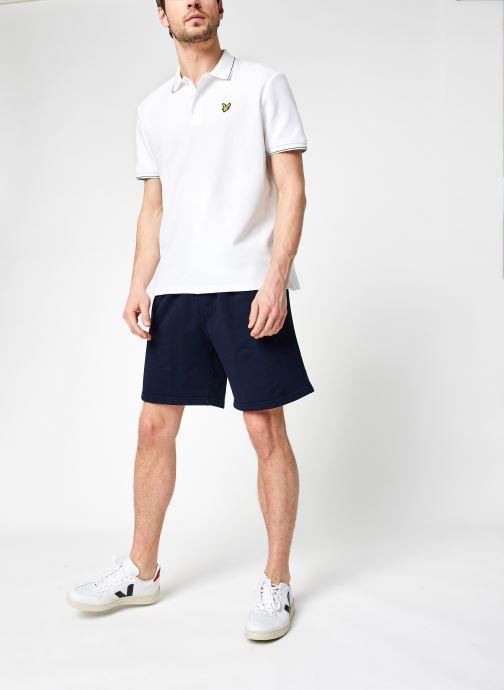 Vêtements Colorful Standard Classic Organic Sweatshorts Bleu vue bas / vue portée sac