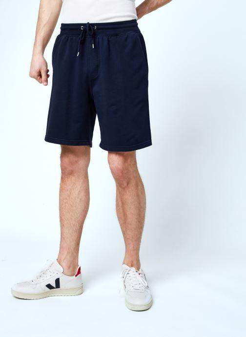 Vêtements Colorful Standard Classic Organic Sweatshorts Bleu vue détail/paire