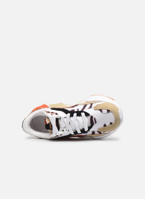 Sneakers Puma RSX3 WILD CATS WNS Bianco immagine sinistra