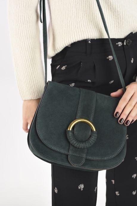 Handtaschen Georgia Rose Melyssa grün ansicht von unten / tasche getragen