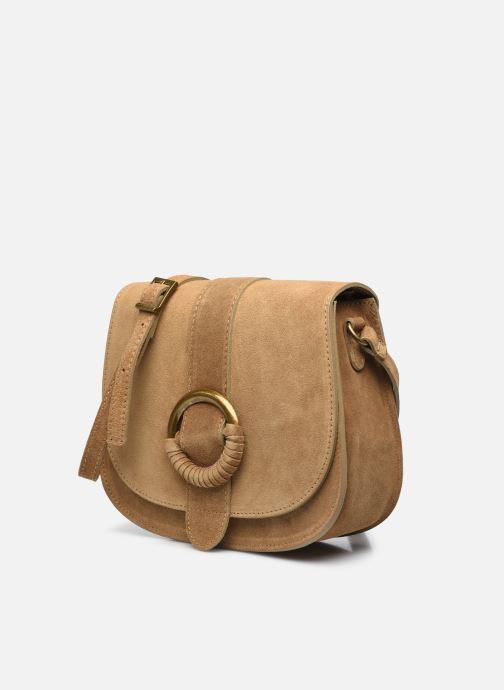 Handtaschen Georgia Rose Melyssa beige schuhe getragen
