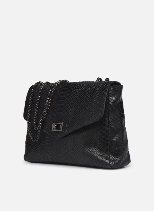 Handtaschen Georgia Rose Mylla schwarz schuhe getragen
