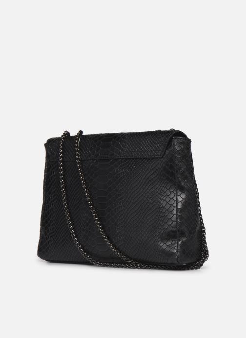 Handtaschen Georgia Rose Mylla schwarz ansicht von rechts