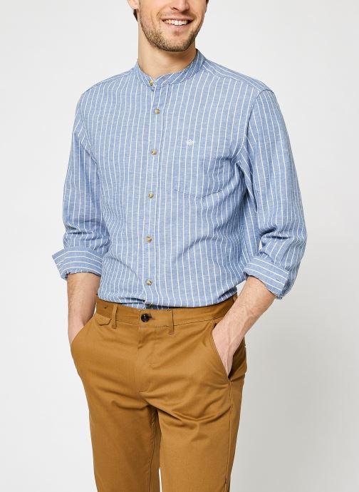 Kleding Dockers Cotton / Hemp Band Collar Blauw detail