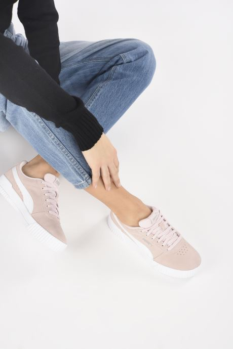 Sneakers Puma Carina W Roze onder