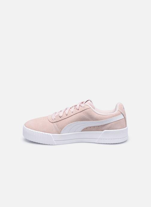 Sneaker Puma Carina W rosa ansicht von vorne