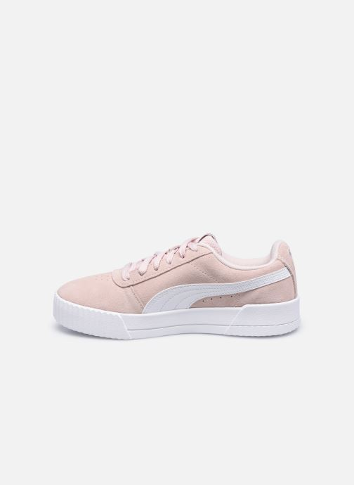 Sneakers Puma Carina W Roze voorkant