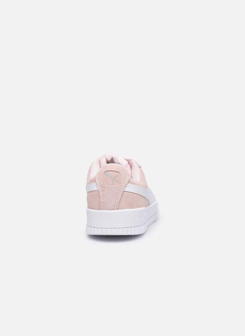 Sneaker Puma Carina W rosa ansicht von rechts