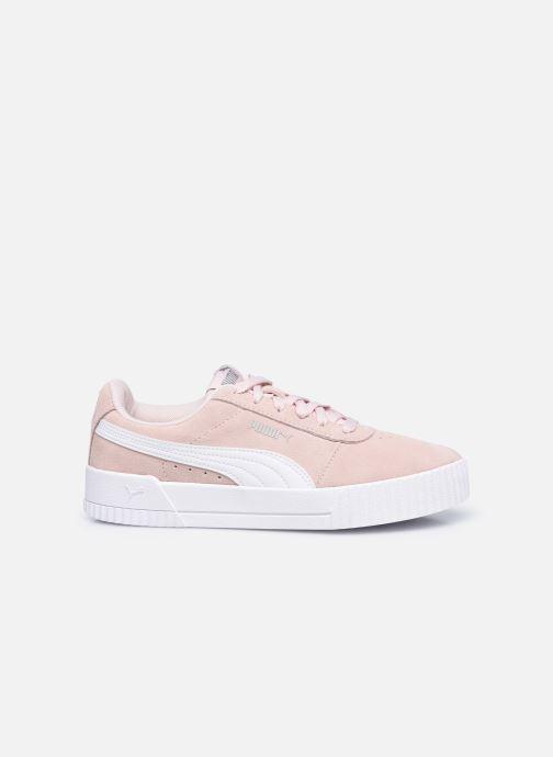 Sneaker Puma Carina W rosa ansicht von hinten