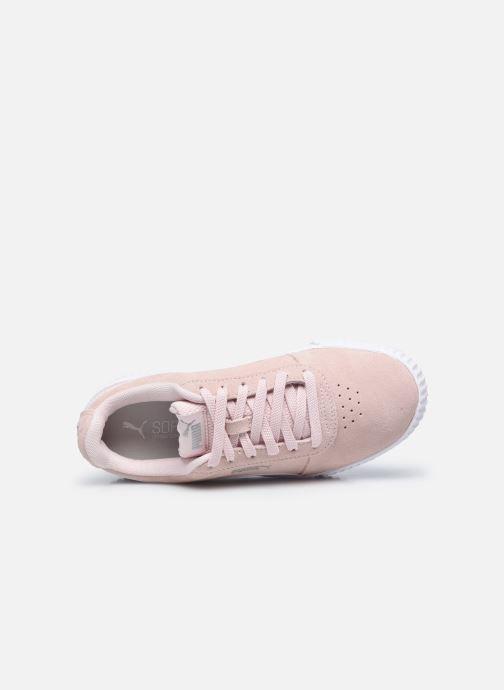 Sneaker Puma Carina W rosa ansicht von links