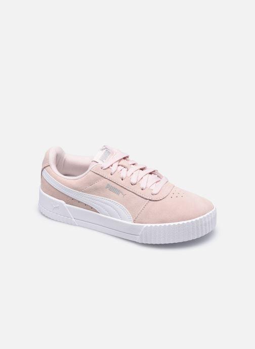 Sneakers Puma Carina W Roze detail