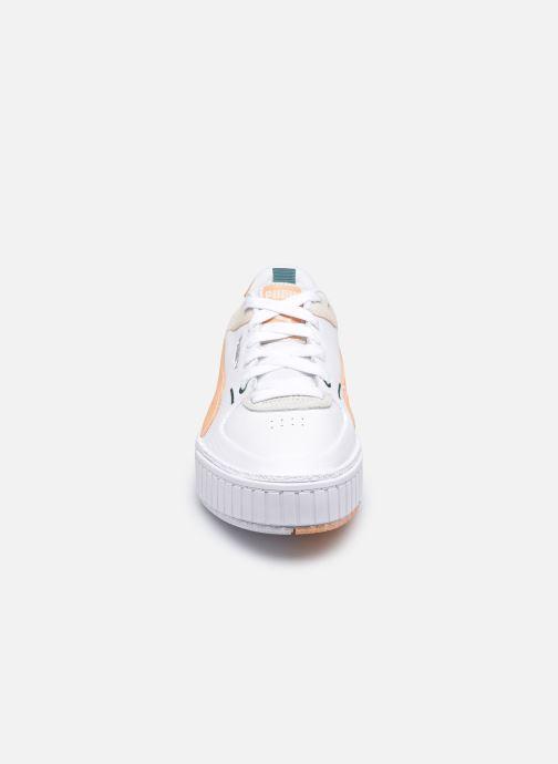 Baskets Puma Cali Sport Mix W Blanc vue portées chaussures