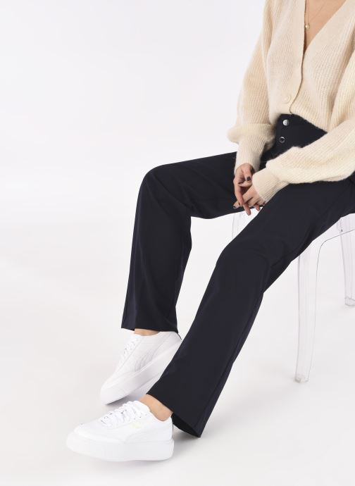 Sneaker Puma Oslo Maya W weiß ansicht von unten / tasche getragen