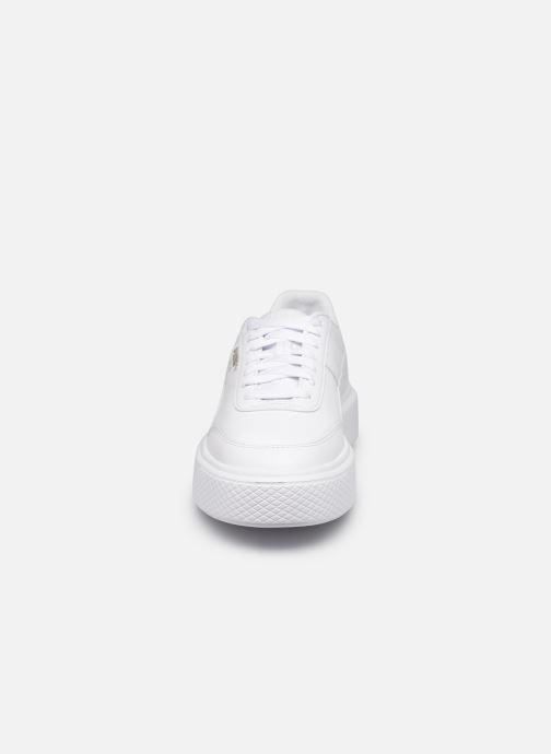Sneaker Puma Oslo Maya W weiß schuhe getragen