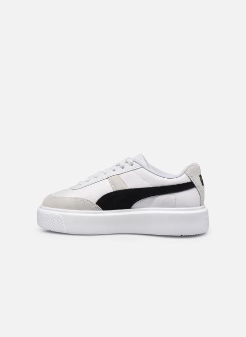 Sneakers Puma Oslo Maya W Bianco immagine frontale