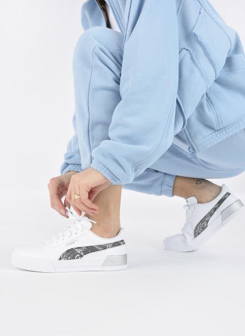 Sneakers Puma Carina Untamed W Wit onder