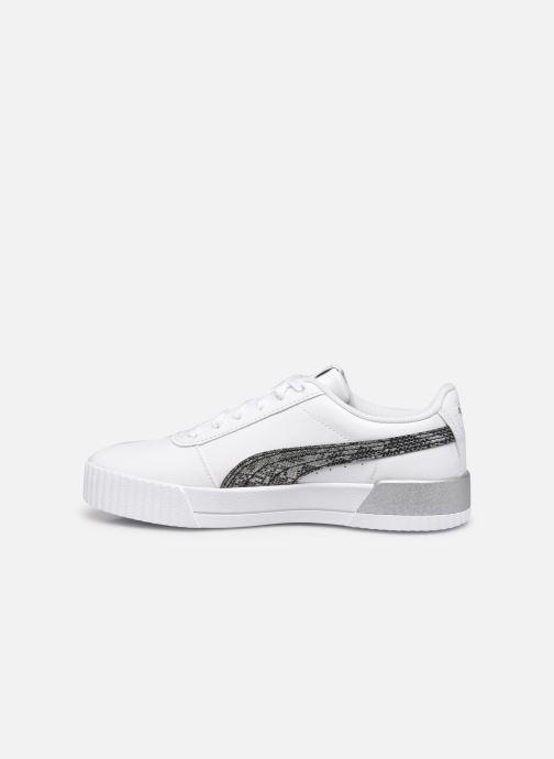 Sneakers Puma Carina Untamed W Wit voorkant
