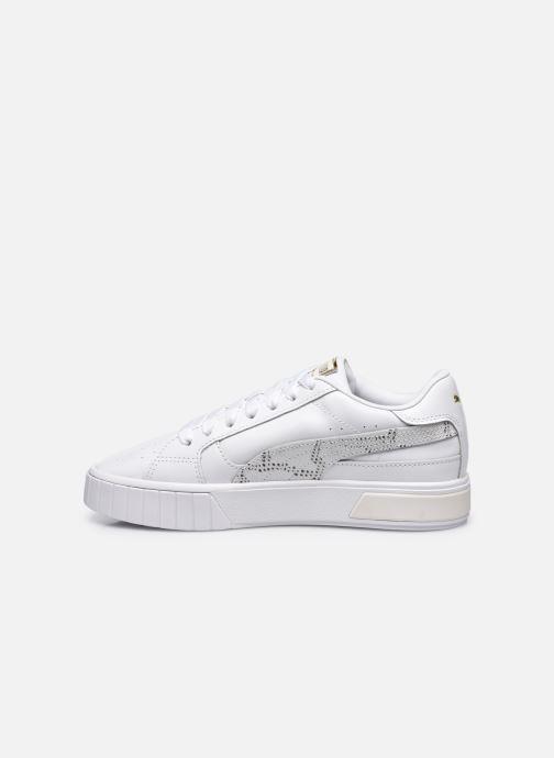 Sneakers Puma Calistar Snake W Wit voorkant