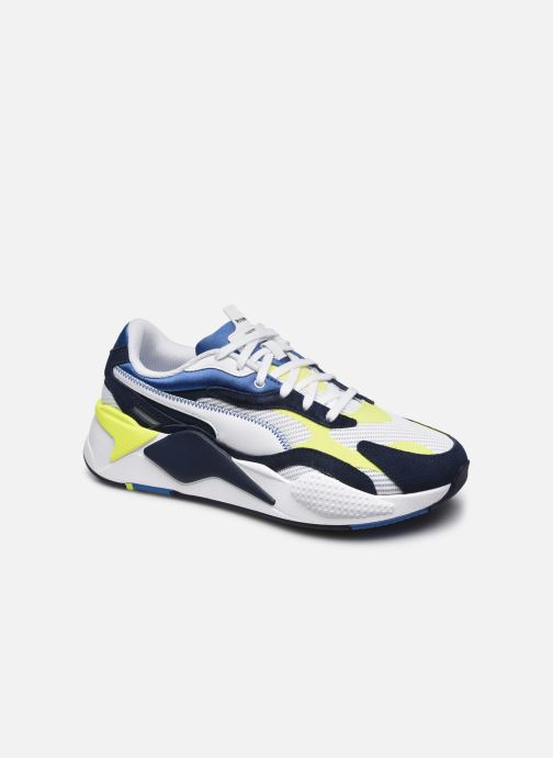 Sneakers Puma Rsx3 Twill Airmesh M Blauw detail