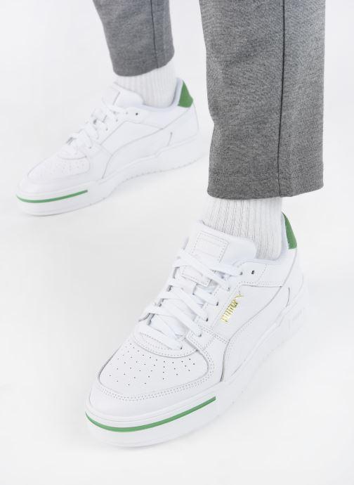 Sneaker Puma Cali Sport Men Heritage M weiß ansicht von unten / tasche getragen