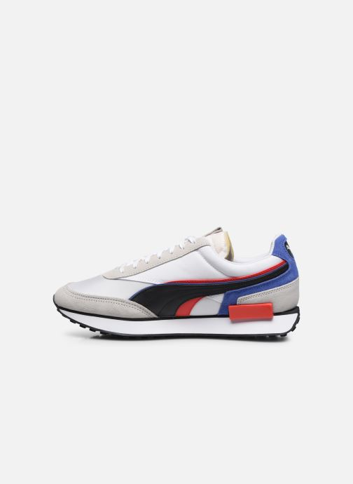 Sneakers Puma Future Rider Double M Wit voorkant