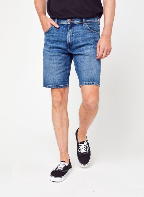 Kleding Wrangler Texas Shorts Blauw detail