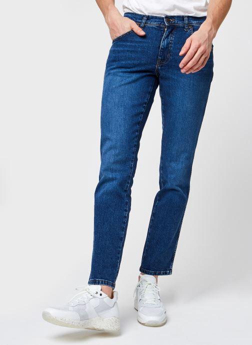Vêtements Wrangler Texas Slim Bleu vue détail/paire