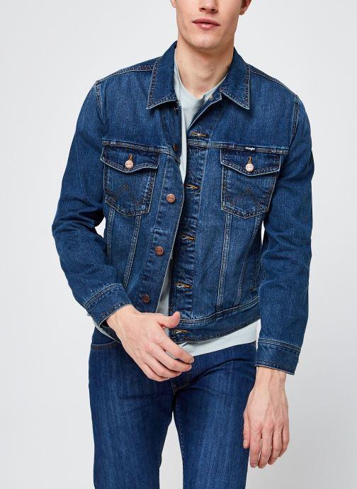 Vêtements Wrangler Western Denim Jacket Bleu vue détail/paire