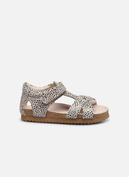 Sandales et nu-pieds Shoesme Bio Sandal BI21S075 Beige vue derrière