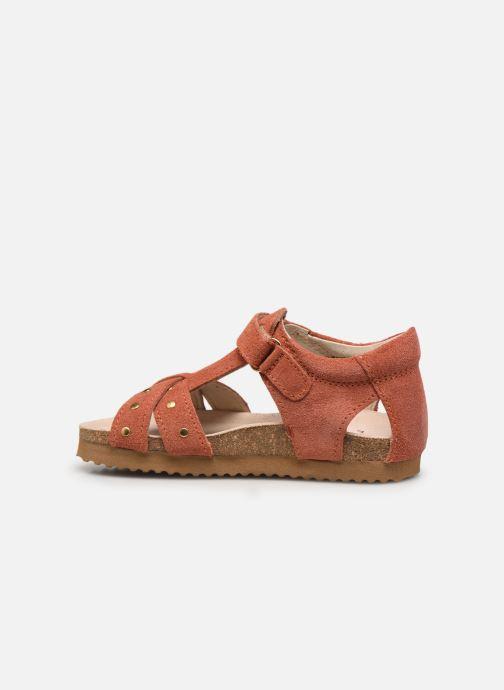 Sandalias Shoesme Bio Sandal BI21S075 Naranja vista de frente