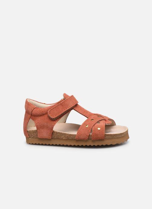 Sandalias Shoesme Bio Sandal BI21S075 Naranja vistra trasera