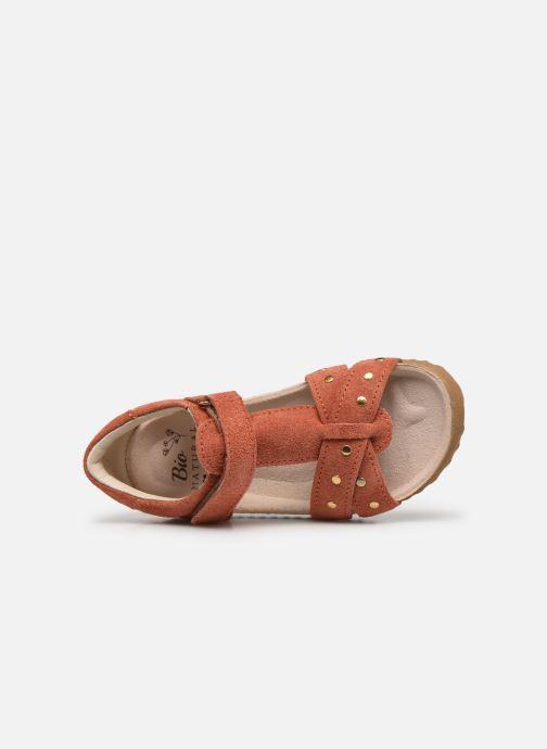 Sandalias Shoesme Bio Sandal BI21S075 Naranja vista lateral izquierda