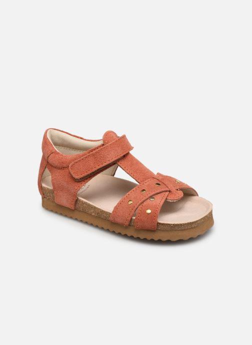 Sandales et nu-pieds Shoesme Bio Sandal BI21S075 Orange vue détail/paire